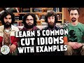 Learn 5 Common CUT Idioms With Examples | Cut The Crap, Cut Some Slack, Cut To The Chase..