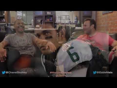 Chansi Stuckey Catching Mark Sanchez First NFL TD Pass