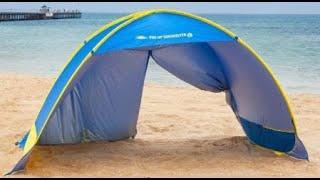 Бюджетная пляжная палатка с Алиэкспресс || Идеальный обзор пляжной палатки!