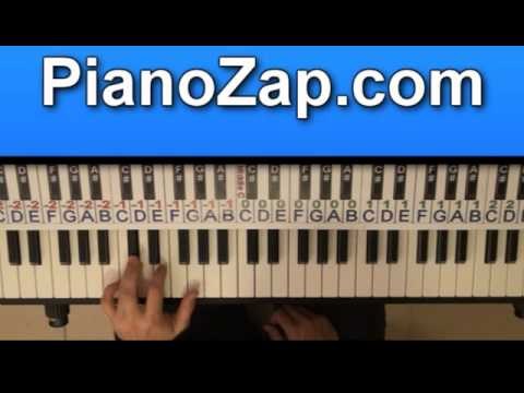 How To Play Video Game Lana Del Rey On Piano Tutorial Youtube