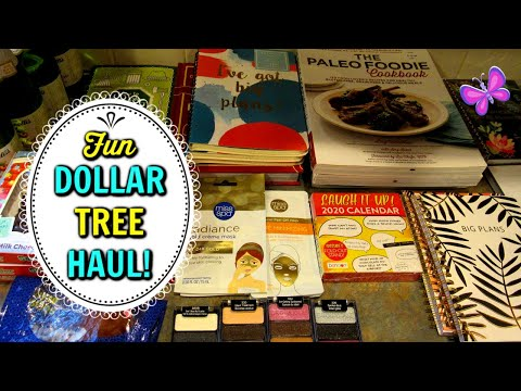 DOLLAR TREE HAUL!  New Finds! November 20, 2019 | LeighsHome