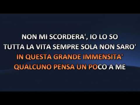 Gianna Nannini - L'immensita' (Video Karaoke)