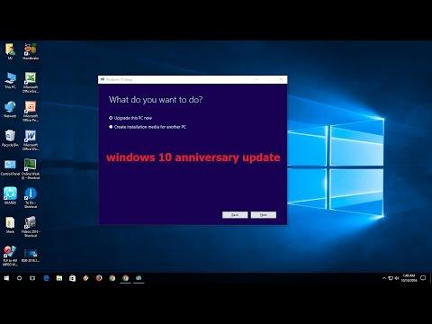 How to Manual Update Windows 10 Anniversary Update (Easy & Free)