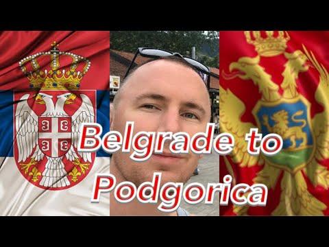 Belgrade to Podgorica (Montenegro)