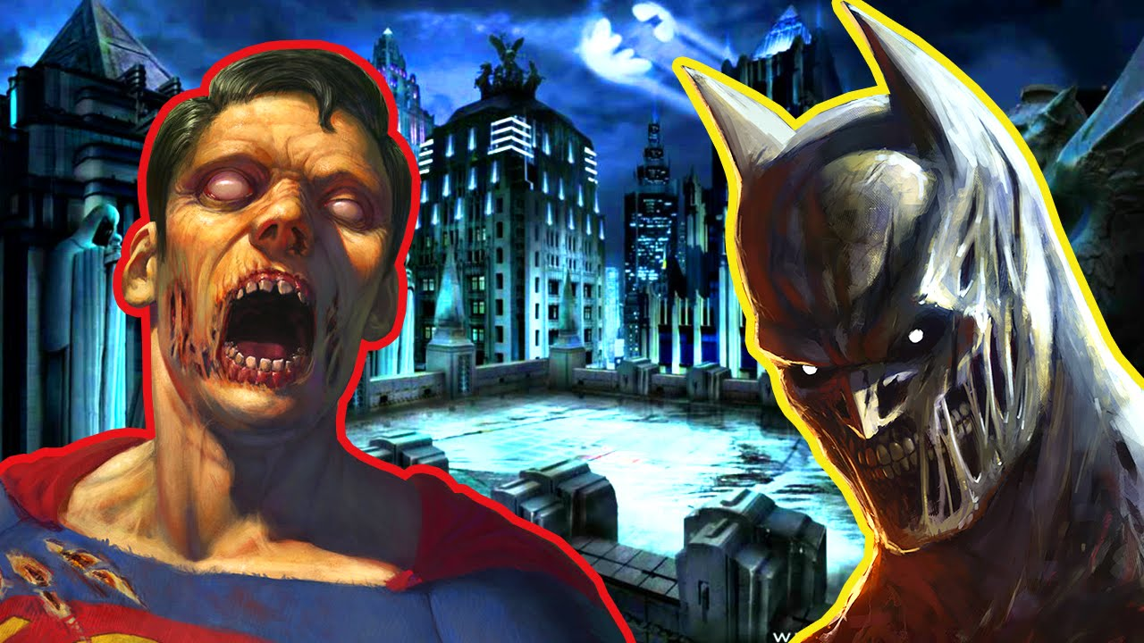 LEGENDARY BATMAN VS SUPERMAN Call Of Duty Zombies Mod