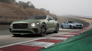 Bentley Continental GT V8 vs. BMW 850i xDrive—2019 BDC Hot Lap Matchup