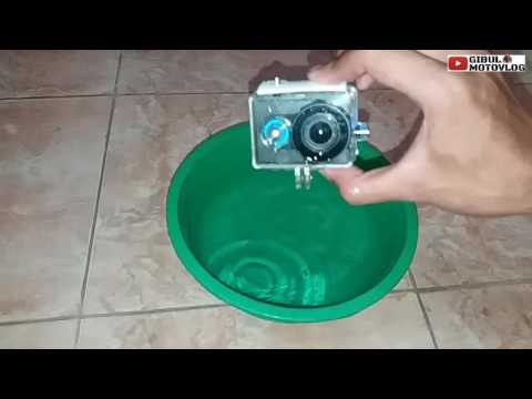 #1 Atasi / cegah waterproof action cam ngembun.
