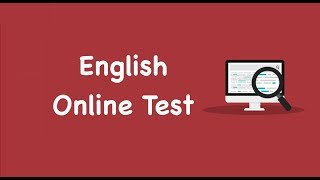 English Online Test | English Mock Test | English Quiz | English Online Practice