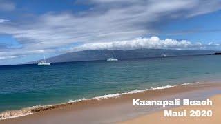 Kaanapali Beach - October 2020