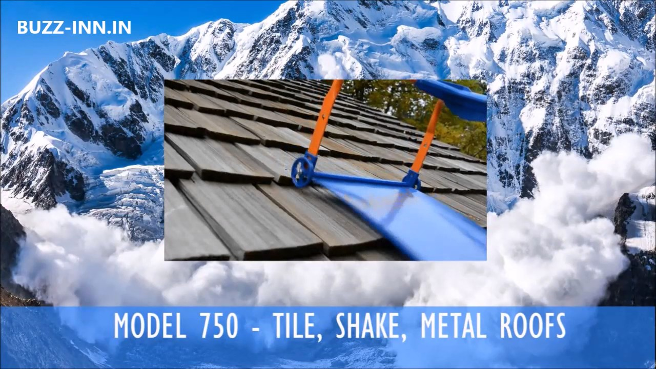 Avalanche Roof Rake Snow Removal System Youtube