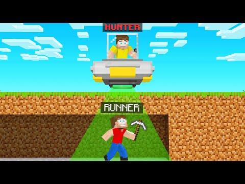 UFO HUNTERS VS SPEEDRUNNER In Minecraft!