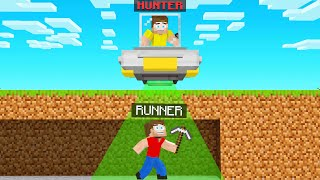 UFO HUNTERS VS SPEEDRUNNER In Minecraft!