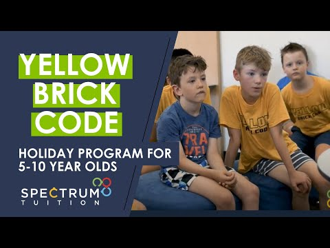 Introducing Yellow Brick Code - Our School Holiday Program For 5-10 Year Olds In Melbourne
