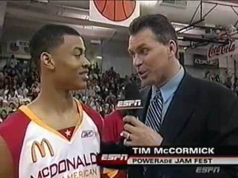 Gerald Green 2005 High School Dunk Contest Mcdonald S All American Youtube