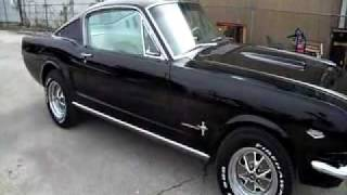1965 Ford Mustang  289 HIPO 4 speed Fastback