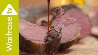 Sabrina Ghayour's Spiced Rack Of Lamb With Pomegranate Sauce | Waitrose