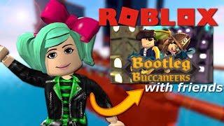 BOATS INVISIBILE?!? Roblox Bootleg Buccaneers con gli amici!
