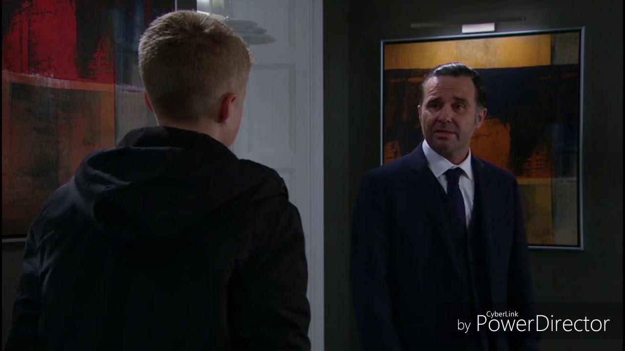 Emmerdale - Graham Gives Noah Joe's Cufflinks (16th October 2018)