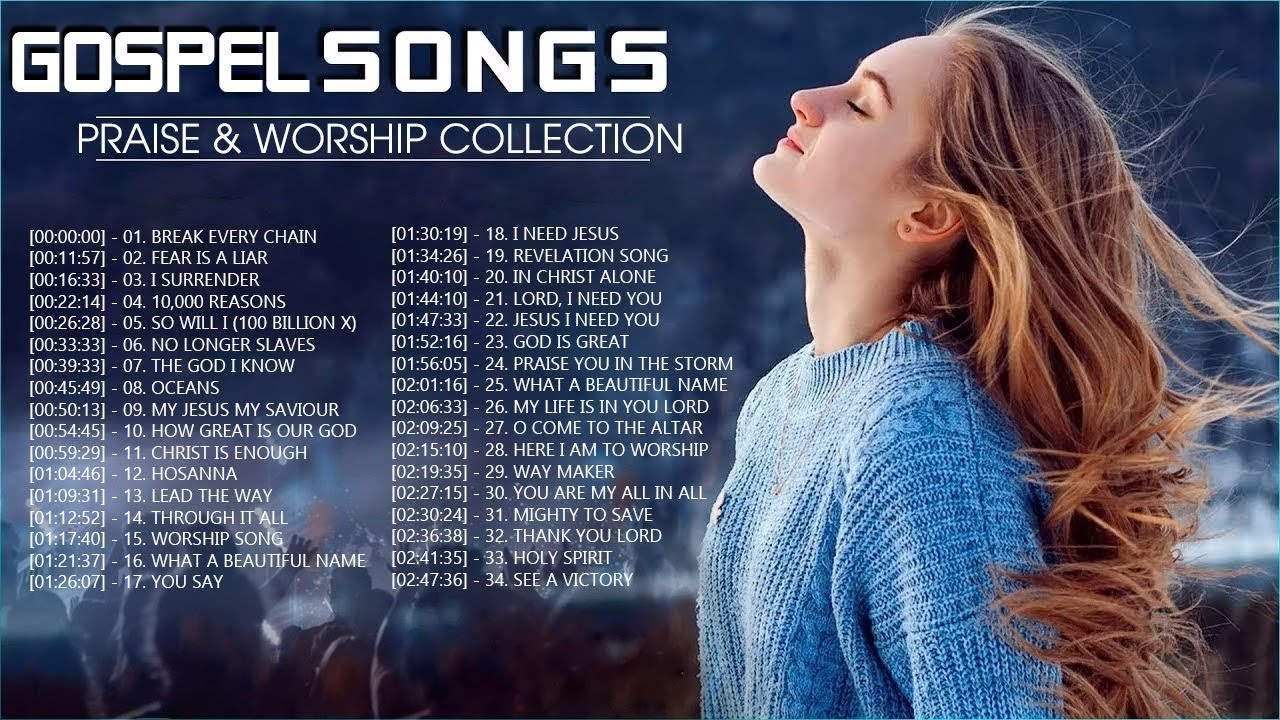 Download 2 Hours Non Stop Worship Songs 2021 With Lyrics - Best 100 Christian Worship Songs  - Gospel Songs