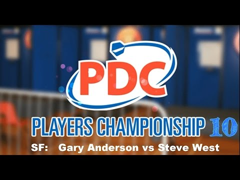 Players Championship Ten - Semi Final: Gary Anderson vs Steve West