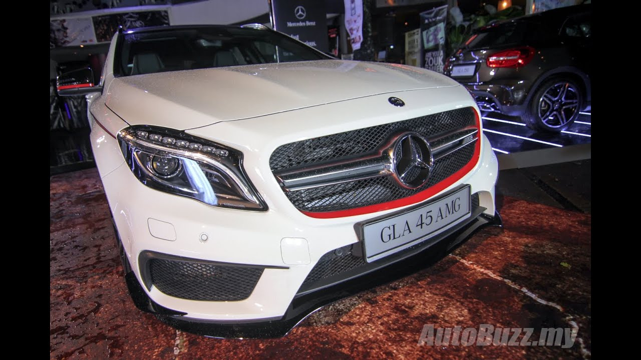 Mercedes-Benz GLA & GLA 45 AMG launch in Malaysia - AutoBuzz.my