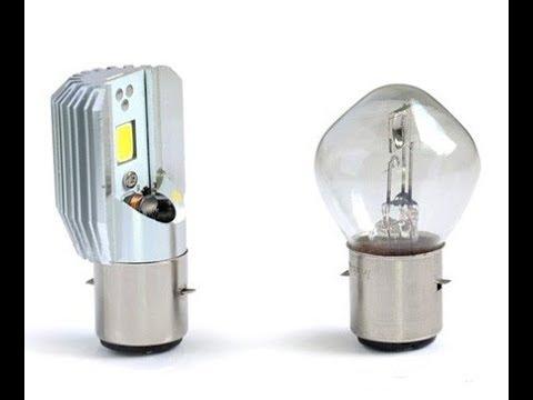 H6 LED BA20d Светодиодная лампа для мотоцикла H6 LED