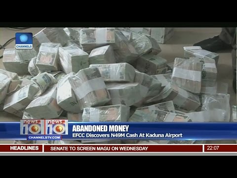 Abandoned Money: EFCC Discovers N49M Cash At Kaduna Airport