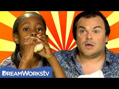 Jack Black vs Little Kid EPIC Speed Eating Challenge   THE DREAMWORKS DOWNLOAD