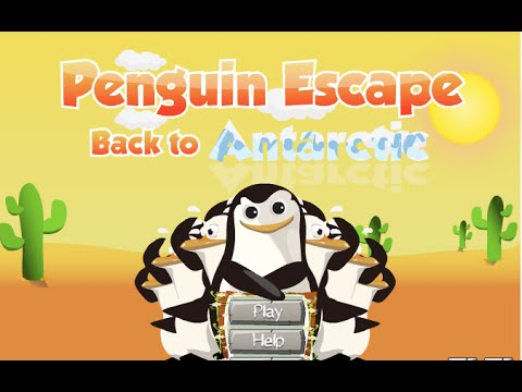 Пингвины из Мадагаскара выбираются из Техаса. Развивающие мультики для детей, видео игры онлайн