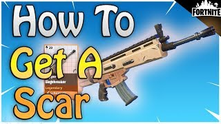 FORTNITE - How To Get Your Own Scar In Save The World PVE (New Event Store Items)