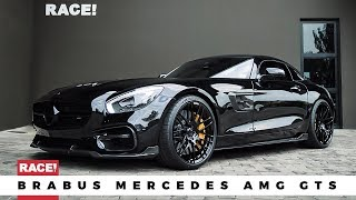 BRABUS Mercedes AMG GTS by RACE!