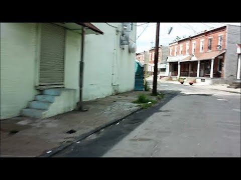 CAMDEN NEW JERSEY  SKID ROW AREAS
