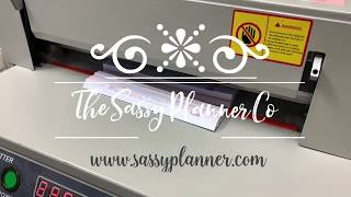 Behind the scenes, Sassy Planner Co