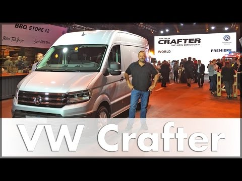 2016 VW Crafter World Premiere - VW Commercial Vehicle - Van - Auto, English