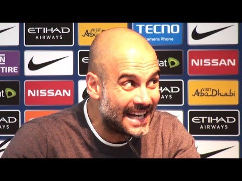 Manchester City 5-1 Leicester City - Pep Guardiola Post Match Press Conference - Embargo Extras
