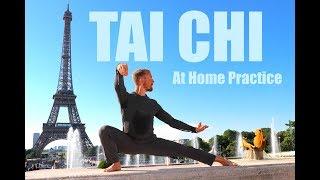 12 Best Tai Chi Exercises | BONUS Daily Taiji Warmup & Cool Down | Eiffel Tower Tai Chi