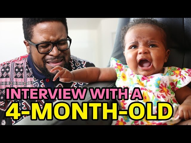 New Father Chronicles - Interview With A 4-Month-Old