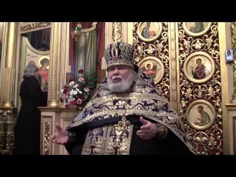 Прощенное воскресенье of the Spaso-Preobrazhenskiy Cathedral, city of Nikopol, 02.03.2014