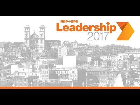 NDP Leadership 2017 Debate - St John's // Débat de la course au leadership du NPD - Saint-Jean