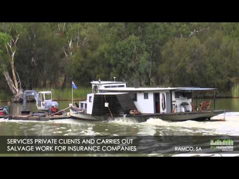 Unique Marine Business on the Murray + Paddle Steamer Business for Sale - Ramco, SA