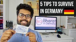 How do Indians Survive in Germany? Here are the 5 Tips!