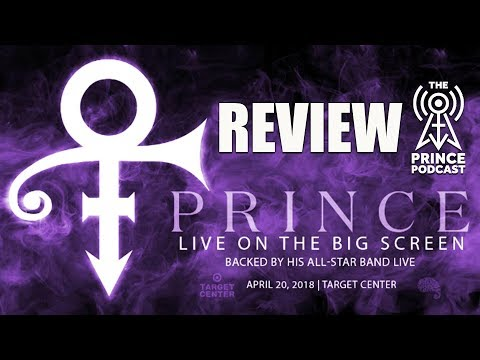 Prince live on the big screen Review