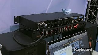 ESI Dante Ethernet audio interface at NAMM 2014