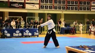 Championnat de Belgique Poomsae - Senior 1 A Male - Raphael