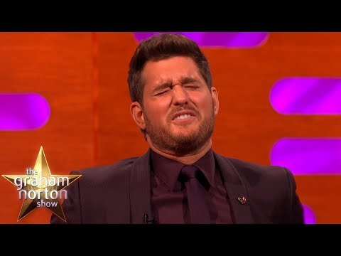 Michael Bublé Doesn't Find His Christmas Meme Very Funny | The Graham Norton Show