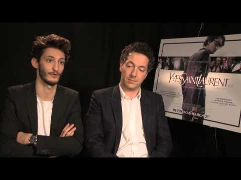 Yves Saint Laurent - Pierre Niney and Guillaume Gallienne Interview