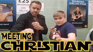 Meeting WWE Legend Christian!!!