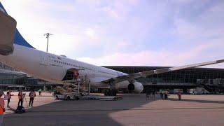 Первый гуманитарный рейс в Африку