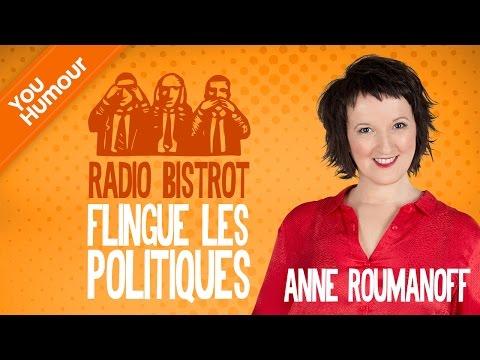 Anne Roumanoff flingue les politiques dans Radio Bistrot