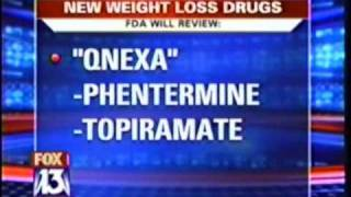 Qnexa, a New Weight Loss Drug, Reviewed by FDA